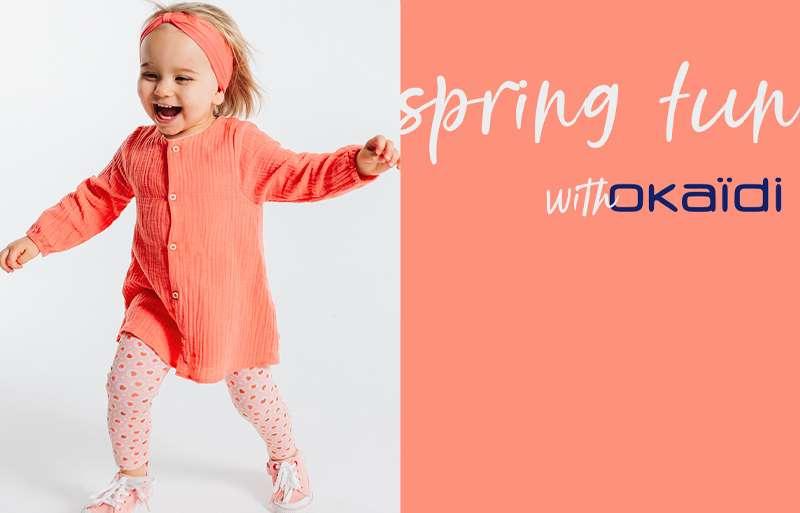 Оваа пролет Окаиди ги има најстилските парчиња за најмилите!